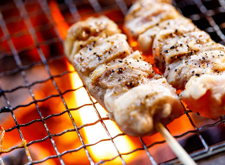 Charcoal-grilled  Skewers